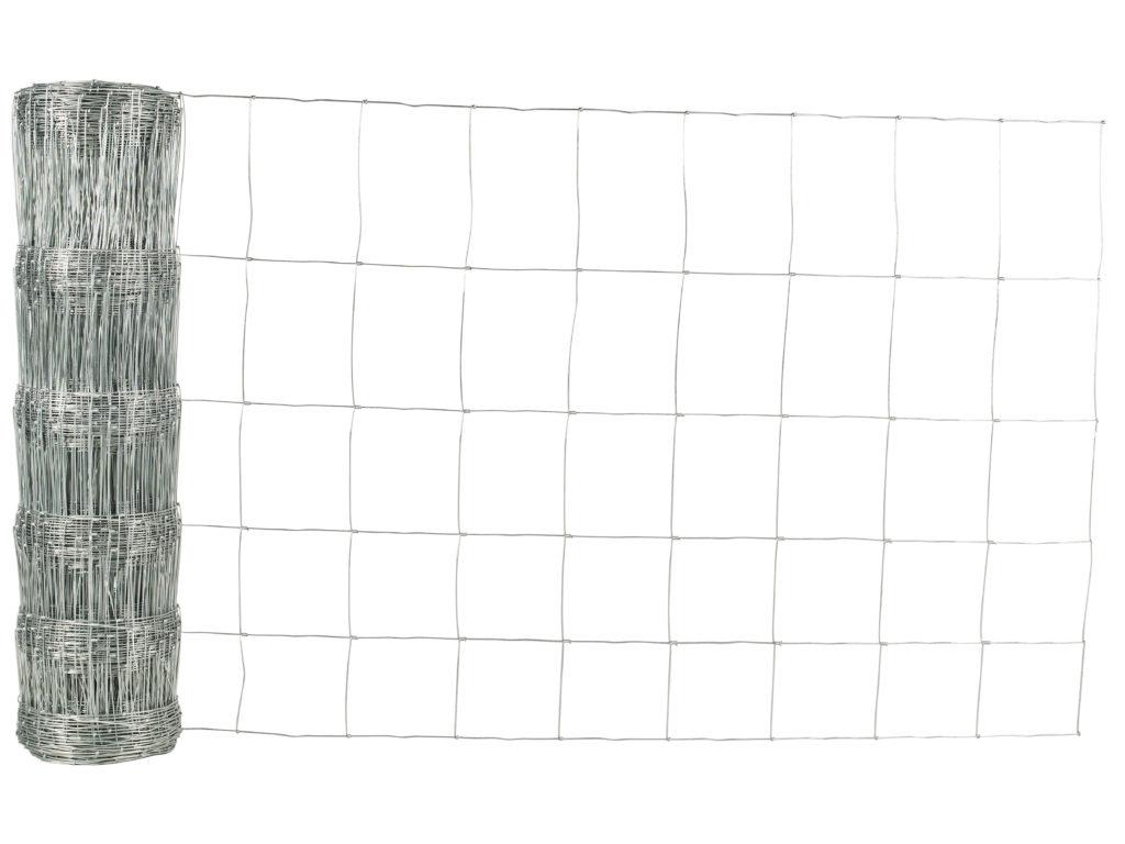 Viltstängsel med vridknut för ren och hjort.